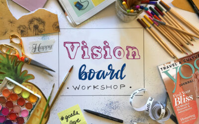 Aug 14-15 2020: Vision Board Workshop – Write the Vision and Make it Plain